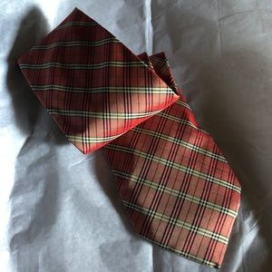 Burberry tie, authentic worn twice